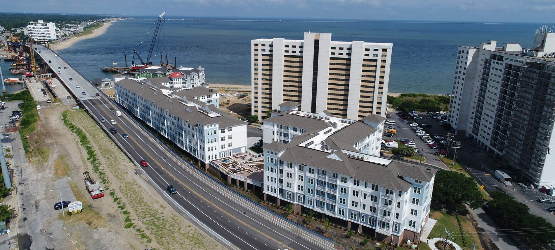 Clancy & Theys construction in Newport News