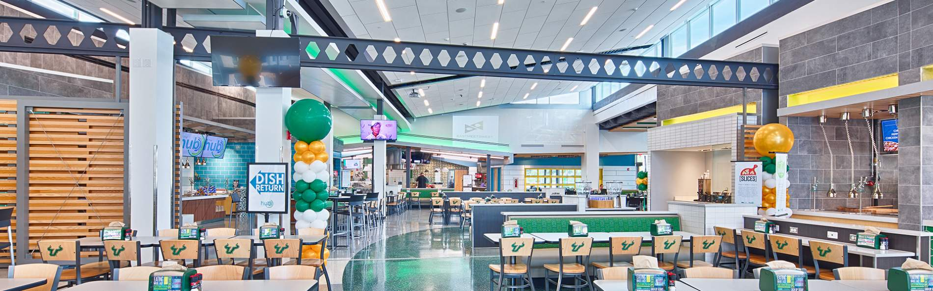 USF green dining hall