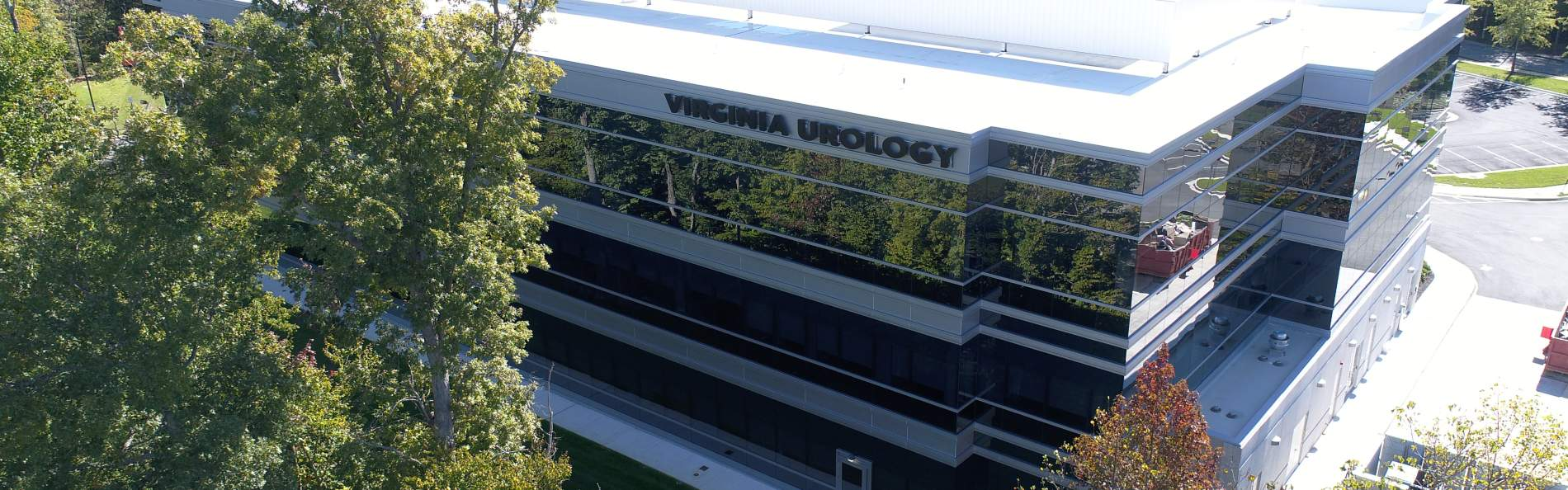 Side/upper view of the newly built Virginia Urology.