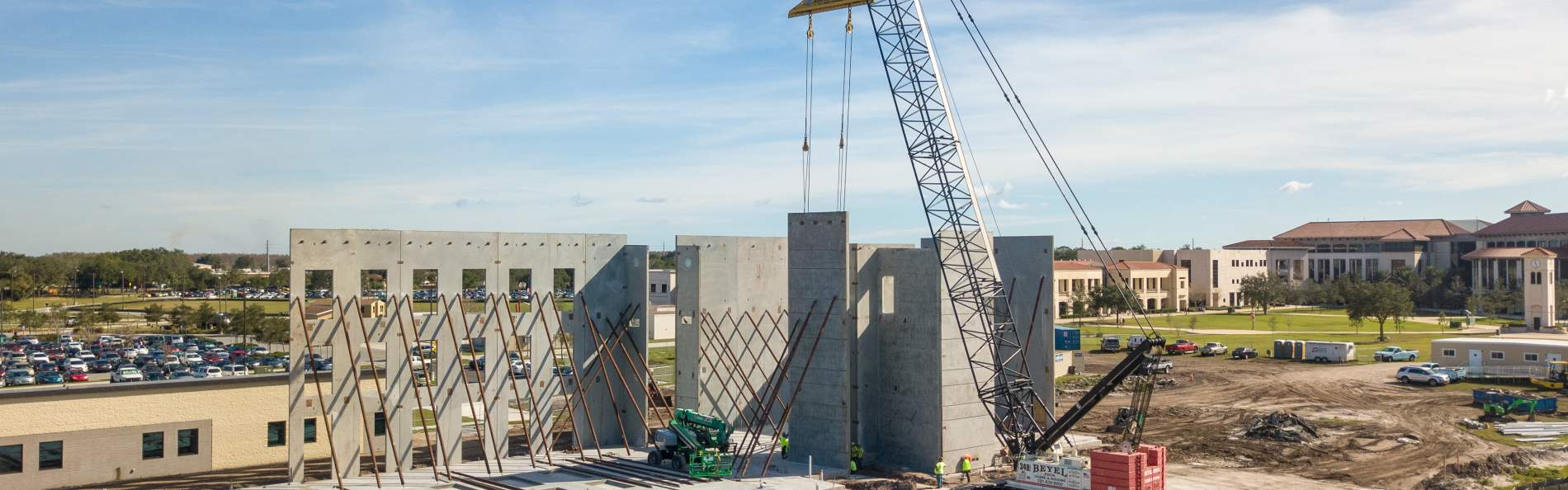 Construction of the CIT building on the Osceola campus on January 8, 2019 in Kissimmee, Fla.
