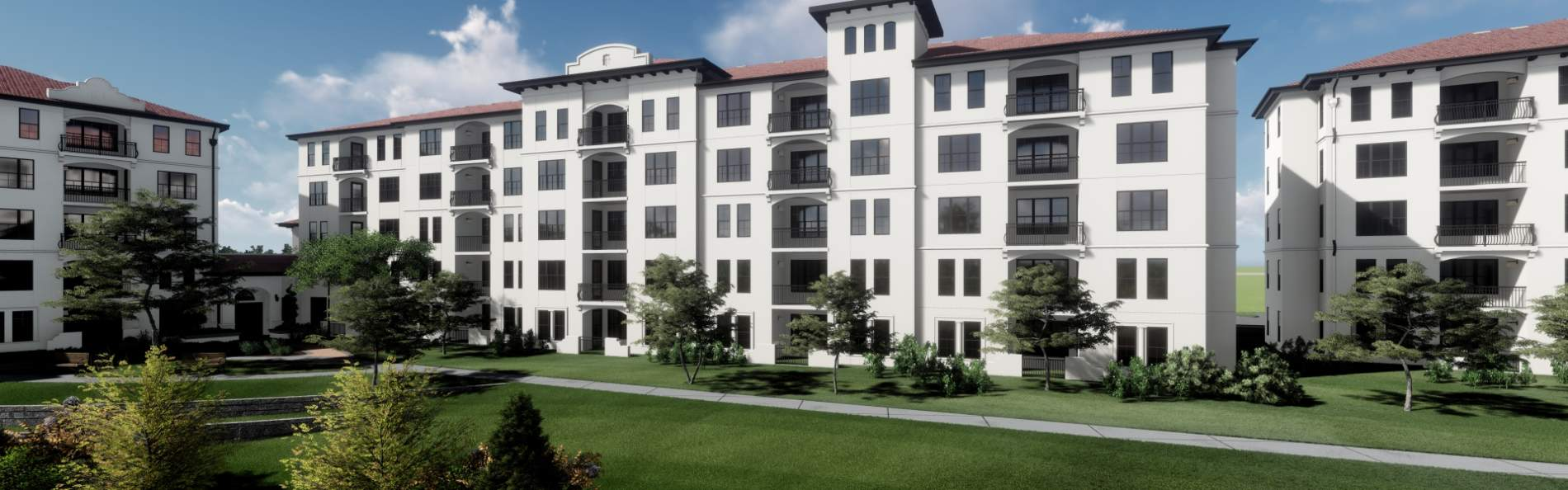 Clancy & Theys Construction management towardsWestminster Baldwin Park II extension to senior living facility