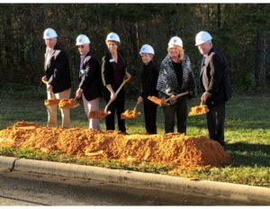 South Piedmont Community College Construction Ground Breaking