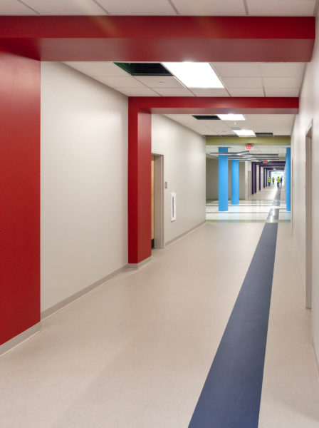 North Ridge Elementary School Hallway